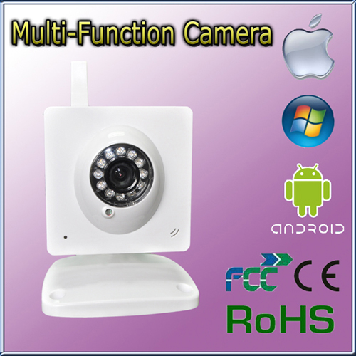 Indoor Wifi Wireless Network Infrared Cube Ip Camera