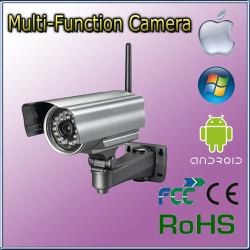 Indoor Wireless Ip Network Camera With Two Way Audio