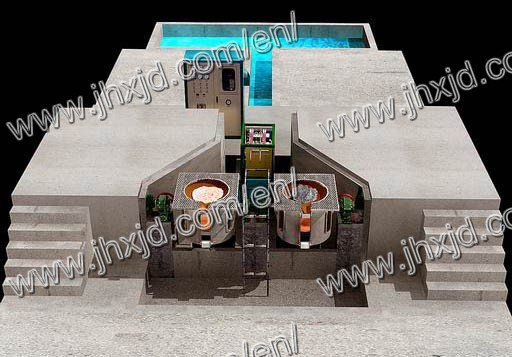 Induction Furnace For Copper Melting 500kg