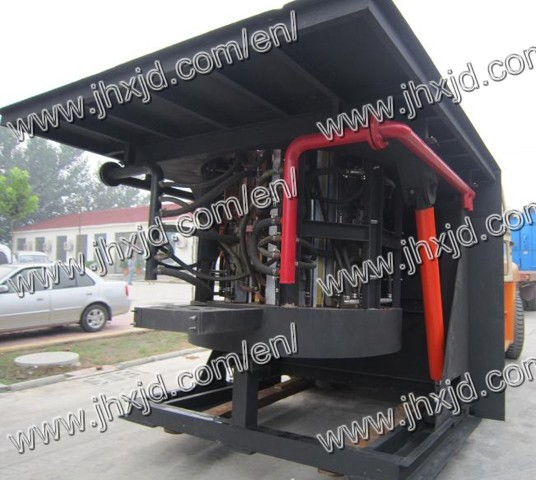 Induction Melting Furnace For Copper 1 5ton
