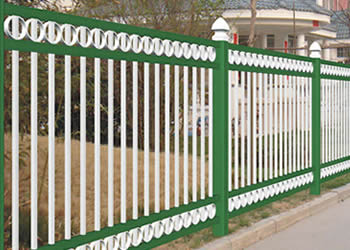 Industrial Aluminum Fence Highest Promises Security