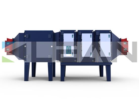 Industrial Electrostatic Precipitator For Anti Slip Mats Industry