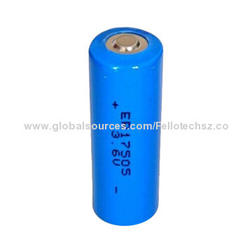 Industrial Lithium Lisocl2 Primary Battery 3 6v Er17505 For Security Systems Digital Control Machine