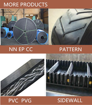 Industrial Rubber Conveyor Belt Price On Different Types By China Factory