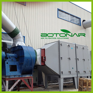 Industrial Smoke Purifier Equipment