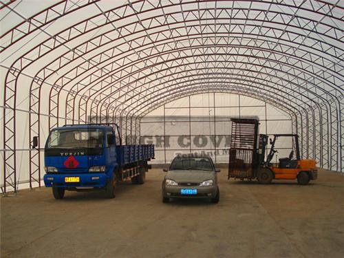 Industrial Tent Fabric Structure Tc496624 Tc499824 Tc4911524
