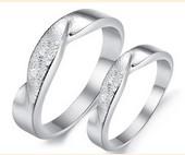 Infinity Ring Symbol Silver
