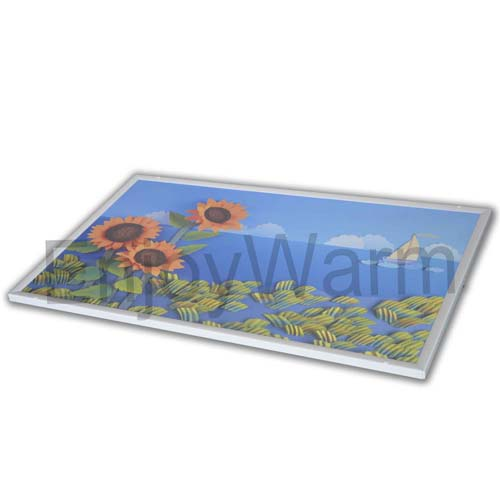 Infrared Heating Panel Uv Print On Pet Surface Sc L60100