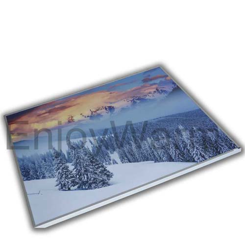 Infrared Heating Panel Uv Print On Pet Surface Sf L100120