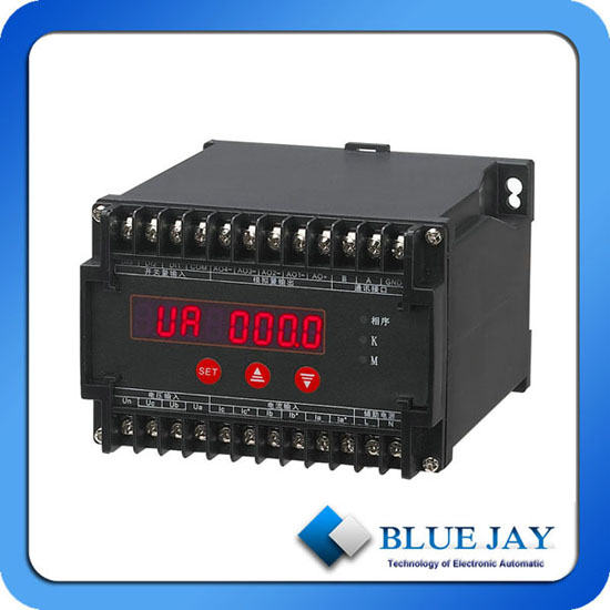 Input Three Phase Ac Grid Parameter With 4 Channel Output Optional Max Electrical Transducer