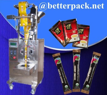 Instant Coffee Packaging Machine 3 In 1 Packs