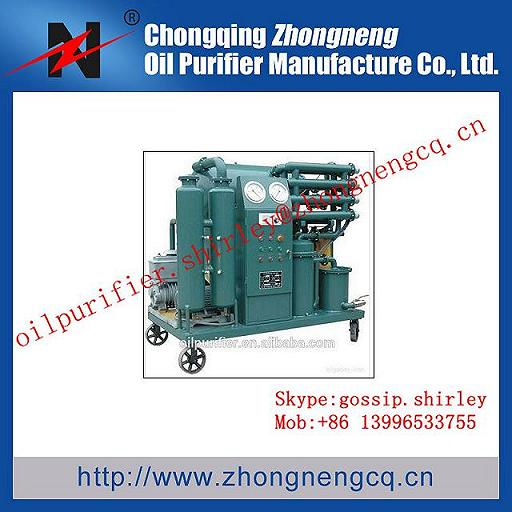 Insulating Oil Filter Plant Transformer Purifier Waste Processing Regeneration Machine