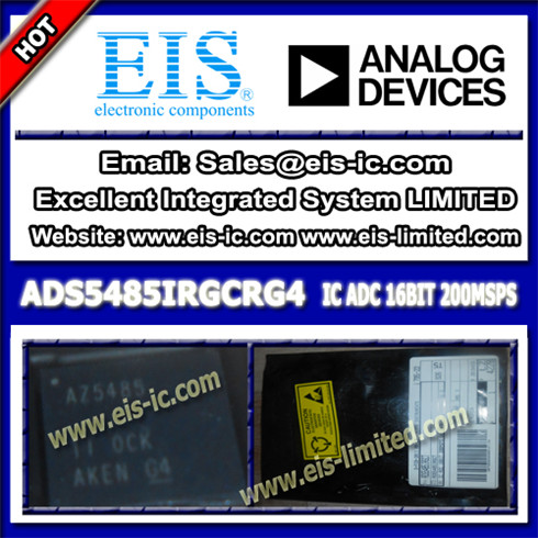 Integrated Ads5485irgcrg4 Texas Instruments Ti Ic