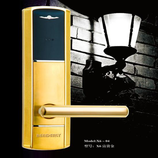 Intelligent Card Rfid Locks Smart Hotel Door Lock With Free Software