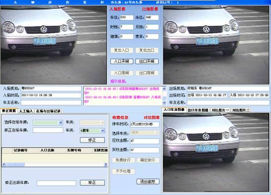 Intelligent Parking Management Software