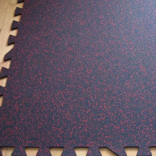 Interlocking Rubber Gym Tile