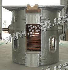 Intermediate Frequency Steel Induction Melting Furnace 750kg