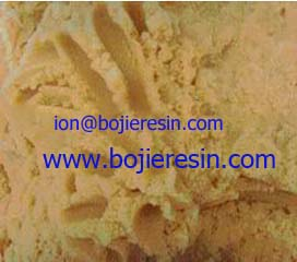 Ion Exchange Resin For Edm Treatment