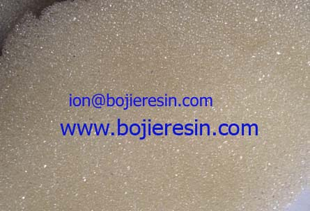 Ion Exchange Resin For Potable Water Treatment