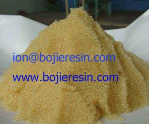 Ion Exchange Resin For Removal Of Natural Radioactivity