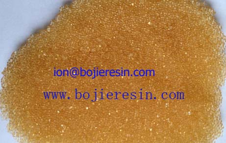 Ion Exchange Resin For Sugar And Sweeteners