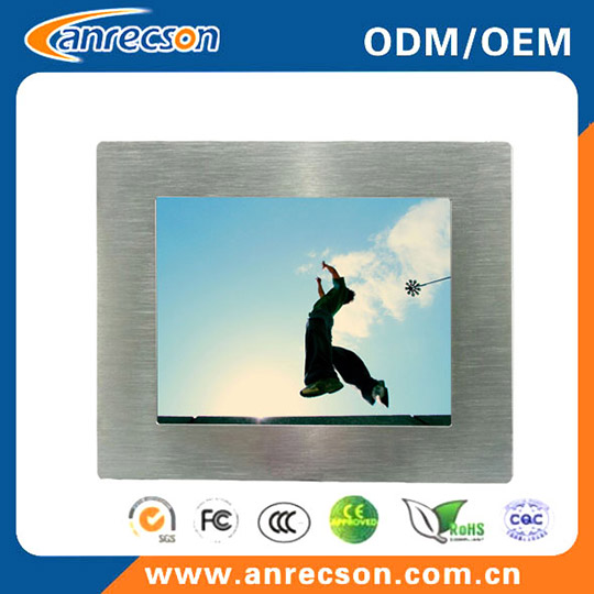 Ip65 Waterproof 8 Inch Industrial Touch Panel Pc All In One