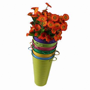 Iron Basket Zinc Flower Garden Pot