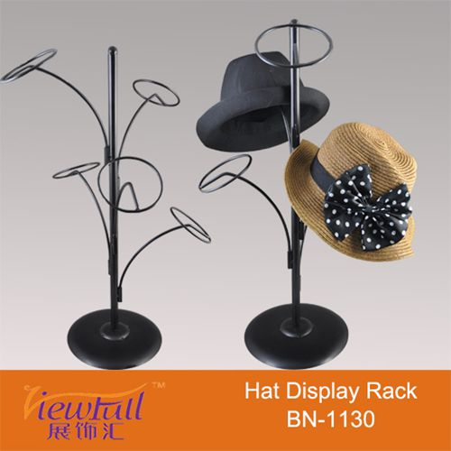 Iron Hat Cap Stand Displayer For Shop