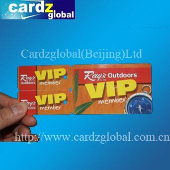 Irregular Shape Card Die Cut Pvc Key Tag