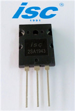Isc Silicon Power Transistor Pnp 2sa1943