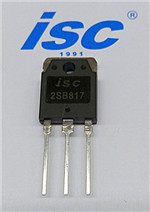 Isc Silicon Power Transistor Pnp 2sb817