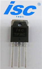 Isc Silicon Power Transistor Pnp Tip36c
