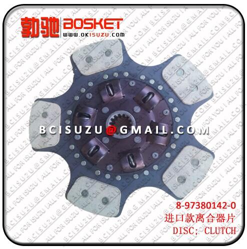 Isuzu For Disc Clutch 4hk1 8 97380142 0 97367795