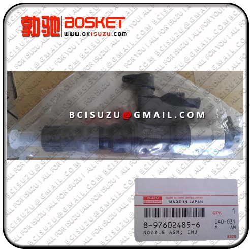 Isuzu For Nozzle Asm Injector 4hk1 8 97602485 4 Denso No 095000 5342