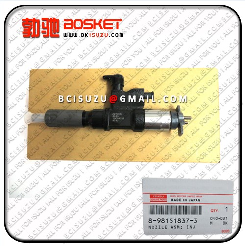 Isuzu For Nozzle Asm Injector 4hk1 8 98151837 2 Denso No 095000 8903
