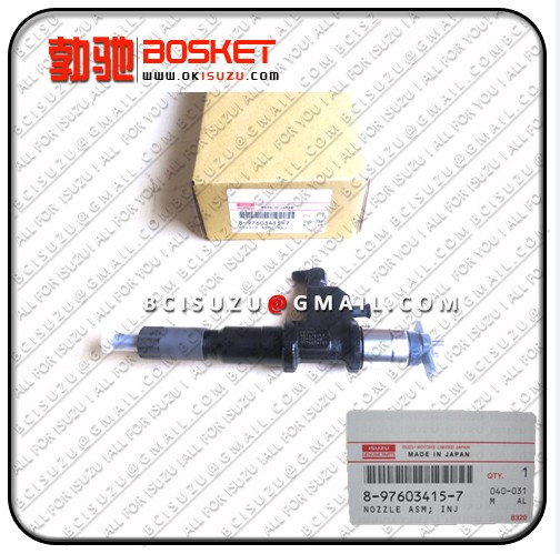 Isuzu For Nozzle Asm Injector 6wf1 6wg1 6uz1 8 97603415 4 Denso No 095000 5511