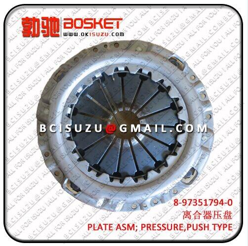 Isuzu For Plate Asm Pres 4hk1 8 97351794 0 97038831 2