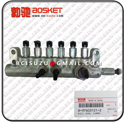 Isuzu For Rail Asm Common 6wf1 6wg1 6uz1 8 97603121 2 8976031212