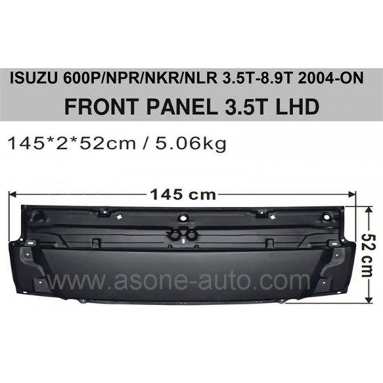 Isuzu Front Panel Npr Nkr Nlr Oem 897582871