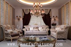 Italian Furniture Sofa Livnig Room Set Ff 102