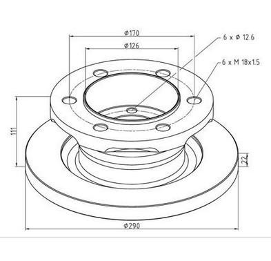 Iveco Bake Dis Rotor