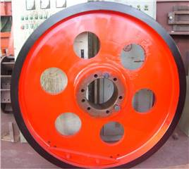Jaw Crusher Spare Parts Flywheel