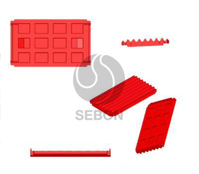 Jaw Crusher Spare Parts Movable Plate
