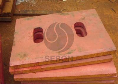 Jaw Crusher Spare Parts Toggle Plate