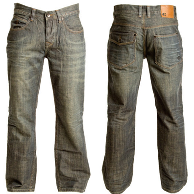 Jeans In Straight Fit Pattern