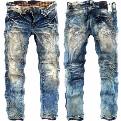 Jeans With Flash Wash