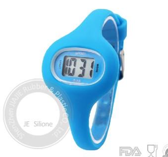 Jelly Odm Digital Silicone Led Gel Pixel Bracelet Watch Price