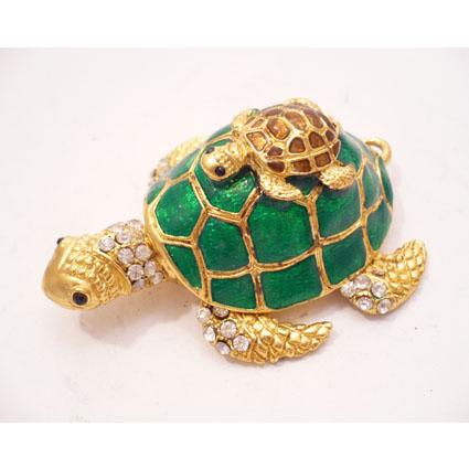 Jewelry Box Turtle Shape