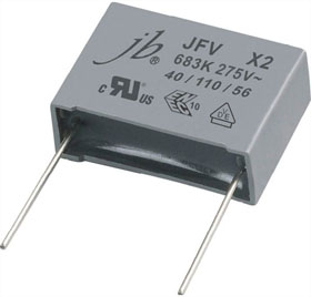 Jfv X2 Metallized Polypropylene Film Capacitors