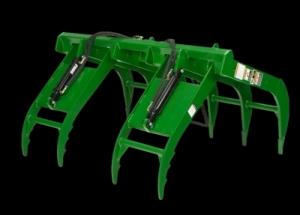 John Deere 824k Wheel Loader Rake